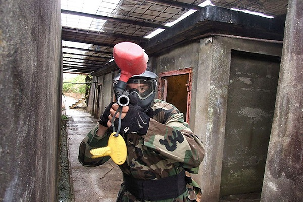 Paintballing in Bristol
