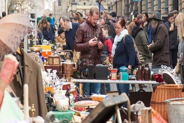 St Nicholas Markets in Bristol