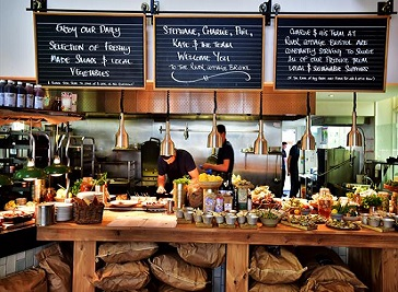River Cottage Restaurant in Bristol
