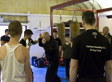 National Smelting Company Boxing Club in Bristol